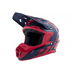 Casque Moto Cross ANSWER AR1 MIDNIGHT / BRIGHT Rouge