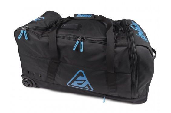 Valise ANSWER ROLLER BAG Noir - Bleu
