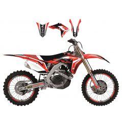 Kit Déco Honda Dream 4 pour CR125 R (00-01) CR250 R (00-01)