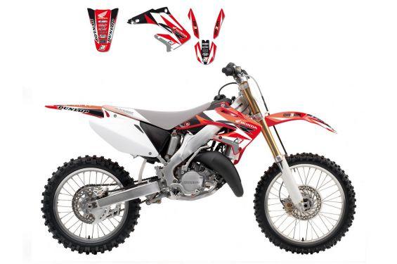 Kit Déco Honda Dream Graphic 3 pour CRF250 R (14-17) CRF450 R (13-16)
