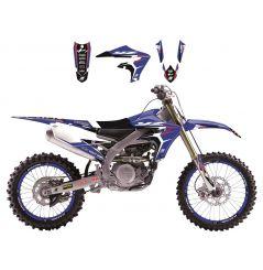 Kit Déco Yamaha Dream Graphic 4 pour WR250 F (05-06) WR450 F (05-06)