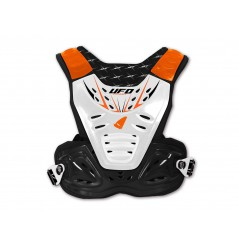 Pare-Pierres UFO REACTOR 2 EVO Noir - Blanc - Orange