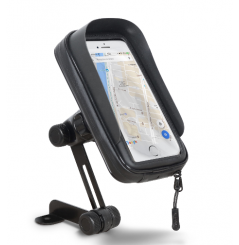 """Support Smartphone Moto Étanche Shad Fixation au Rétroviseur, dimension écran 6"""" 8x16cm"""