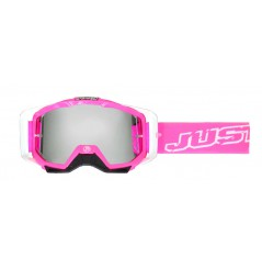 Masque Moto Cross JUST1 IRIS NEON Rose