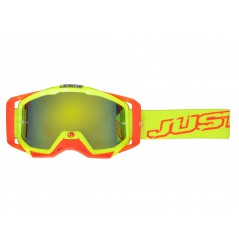 Masque Moto Cross JUST1 IRIS NEON Jaune