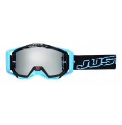 Masque Moto Cross JUST1 IRIS NEON Bleu
