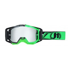 Masque Moto Cross JUST1 IRIS CARBON Vert