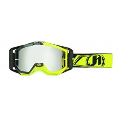 Masque Moto Cross JUST1 IRIS CARBON Jaune