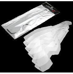 Tear Off pour Masque Moto Cross JUST1 IRIS (8 pièces)