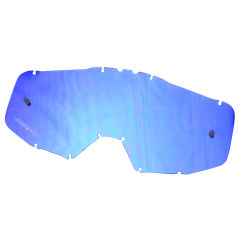 Ecran Iridium Bleu pour Masque Moto Cross JUST1 IRIS