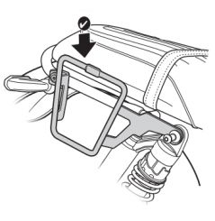 """Support sacoches latérales Shad """"Side Bag Holder"""" pour Honda CB1100 RS (18-19)"""