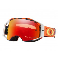 Masque Moto Cross OAKLEY AIRBRAKE MX MEGABURST TROY LEE DESIGNS
