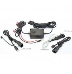 Chargeur Tecno Globe pour Smartphone & GPS