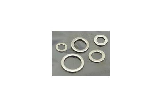 Lot de 5 Joint de Vidange Moto, diamètre 10, 12, 14, 16 et 20mm