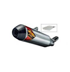 Silencieux FMF Factory 4.1 RCT Alu / Carbone + Plaque Ufo pour Honda CRF250 R (14-17)