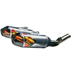 Double Silencieux FMF Factory 4.1 RCT Alu / Carbone pour Honda CRF250 R (14-17)