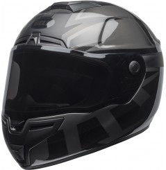Casque Moto BELL SRT BLACKOUT Gris