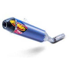 Silencieux FMF Factory 4.1 RCT Titane bleu / Carbone pour KTM SX-F350 (07-15) SX-F450 (07-15)