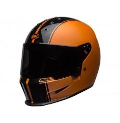 Casque Moto BELL ELIMINATOR RALLY Noir - Orange 2020