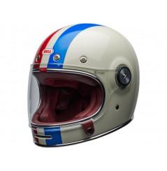 Casque Moto BELL BULLITT DLX COMMAND Bleu - Blanc - Rouge