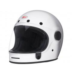 Casque Moto BELL BULLITT DLX SOLID Blanc
