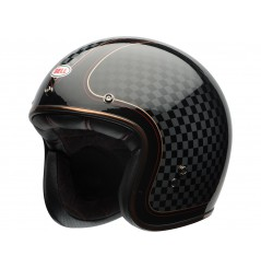 Casque Moto Jet BELL CUSTOM 500 SE RSD CHECK IT Noir