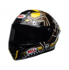 Casque Moto BELL STAR DLX MIPS ISLE OF MAN Noir - Jaune 2020