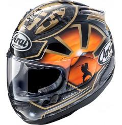 Casque Moto ARAI RX-7V PEDROSA SPIRIT GOLD
