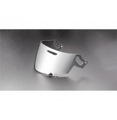 Visière VAS Iridium Argent pour Casque Moto ARAI RX-7V / QV-PRO / RENEGADE / CHASER-X