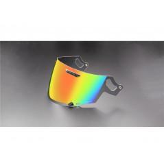 Visière VAS Iridium Rouge pour Casque Moto ARAI RX-7V / QV-PRO / RENEGADE / CHASER-X