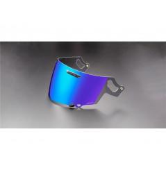 Visière VAS Iridium Bleu pour Casque Moto ARAI RX-7V / QV-PRO / RENEGADE / CHASER-X