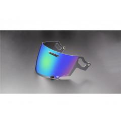 Visière VAS Iridium Vert pour Casque Moto ARAI RX-7V / QV-PRO / RENEGADE / CHASER-X