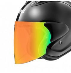 Visière VAS-Z Iridium Rouge pour Casque Moto ARAI SZ-R VAS