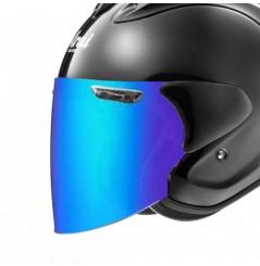 Visière VAS-Z Iridium Bleu pour Casque Moto ARAI SZ-R VAS