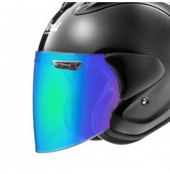 Visière VAS-Z Iridium Vert pour Casque Moto ARAI SZ-R VAS