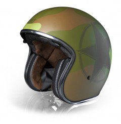 Casque Moto ORIGINE SPRINT ARMY Vert