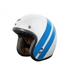 Casque Moto ORIGINE PRIMO JACK Blanc - Bleu