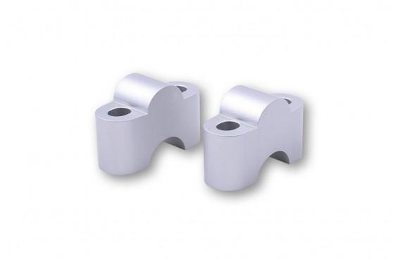 Rehausse de Guidon LSL +25mm pour Tés de Fourche Moulés 22.2 mm