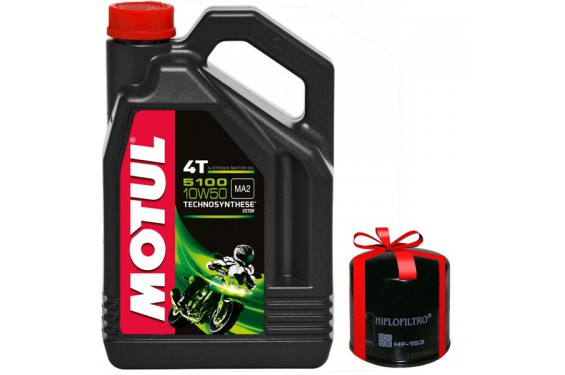 huile moto motul 5100 4t 10w50 4 litres filtre huile offert street moto piece. Black Bedroom Furniture Sets. Home Design Ideas