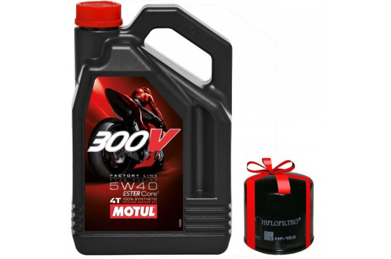 huile moto motul 300v 5w40 4 litres factory line road. Black Bedroom Furniture Sets. Home Design Ideas