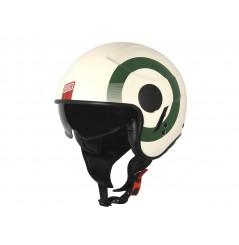 Casque Moto ORIGINE SIERRA ROUND Vert - Blanc - Rouge