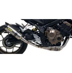 Ligne d'échappement ARROW Street Thunder pour Honda CB650 R (19) CBR650 R (19)