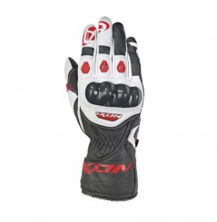 Gants Moto Racing Ixon RS Circuit 2 Noir / Blanc / Rouge