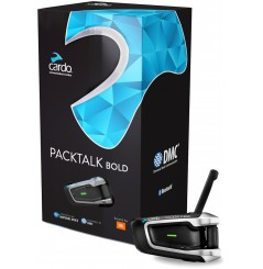Intercom Moto CARDO PACKTALK BOLD JBL