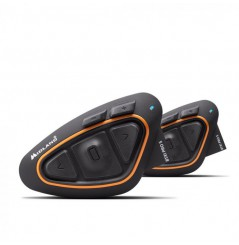 Intercom Moto MIDLAND BTX1 PRO S TWIN Noir - Orange