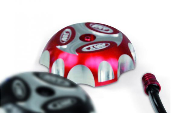 Bouchon de Réservoir Rouge pour Honda CRF250R (02-18) CRF450R (12-18) CRF450 RX (17-18)