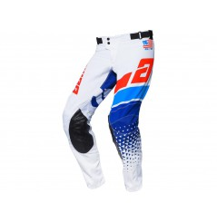 Pantalon Cross ANSWER ELITE KORZA 2020 Bleu - Blanc