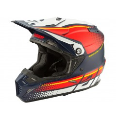 Casque Moto Cross ANSWER AR5 KORZA 2020 Bleu - Rouge