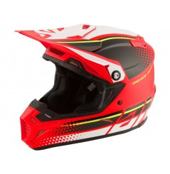Casque Moto Cross ANSWER AR5 KORZA 2020 Rouge - Noir