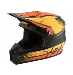 Casque Moto Cross ANSWER AR5 KORZA 2020 Noir - Jaune